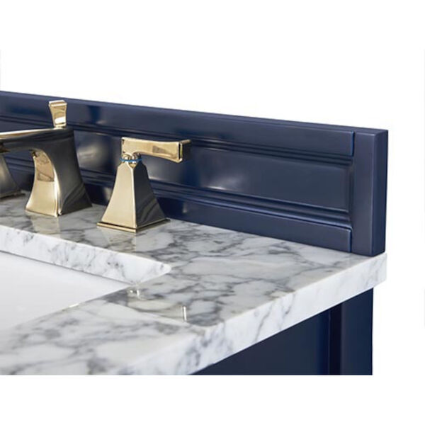 Adeline Heritage Blue 48-Inch Vanity Console with Farmhouse Sink, image 2