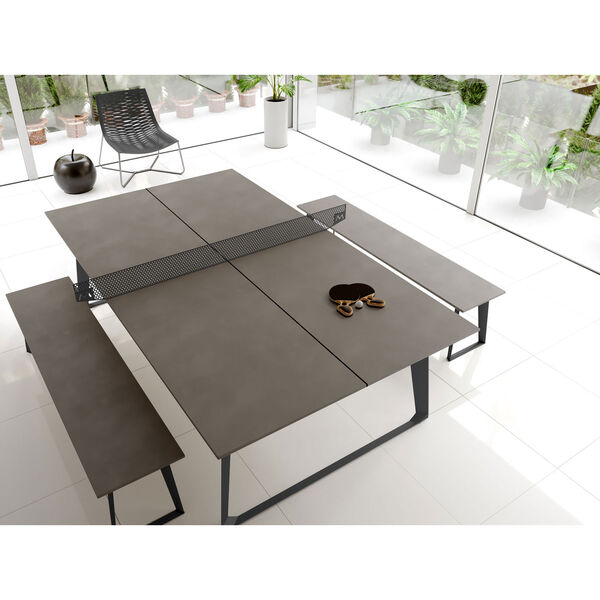 Amsterdam Gray Concrete Ping Pong Table, image 7