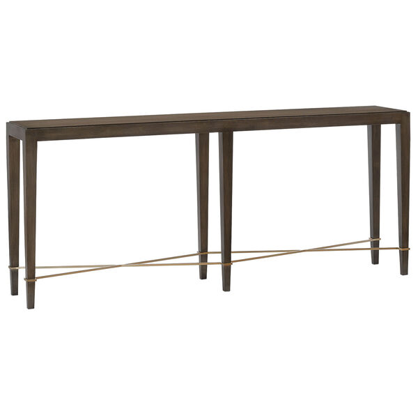 Verona Chanterelle Chanterelle and Champagne 76-Inch Table, image 1