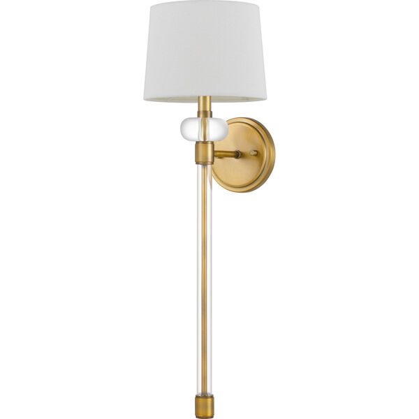 Barbour Weathered Brass One-Light Wall Sconce, image 2