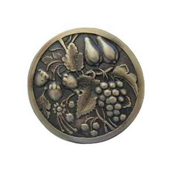 Antique Brass Tuscan Bounty Knob , image 1