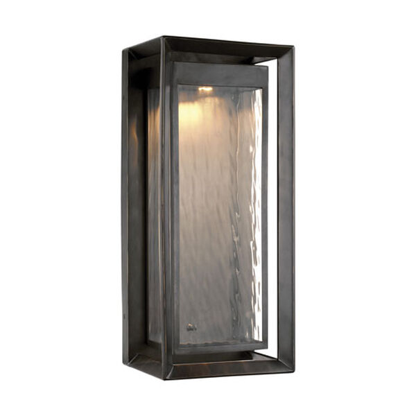 River Bronze 23-Inch LED Outdoor Wall Sconce, image 1