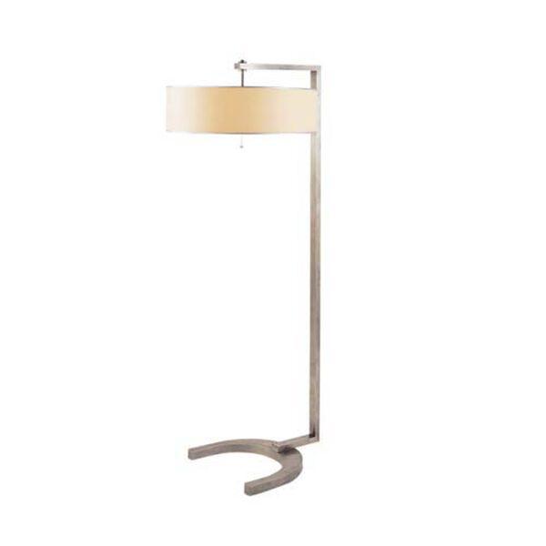 Antique Nickel Hudson Floor Lamp, image 1