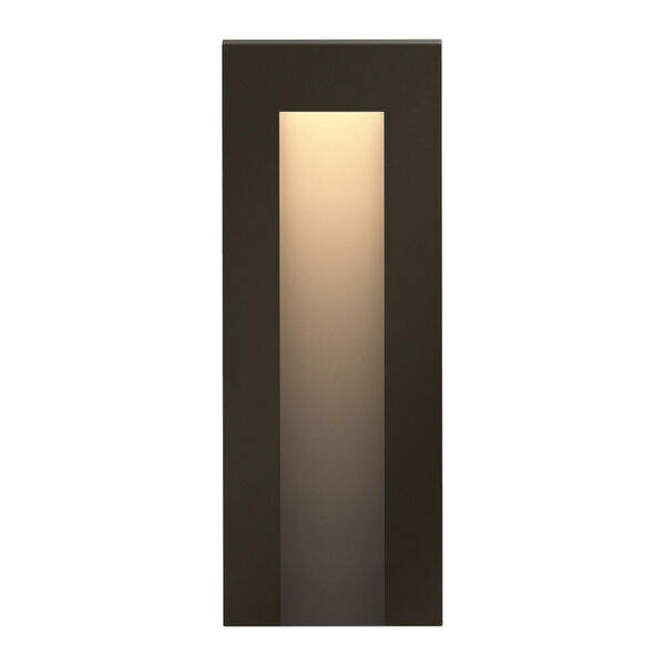 Taper Bronze LED Deck Light with Etched Lens, image 1