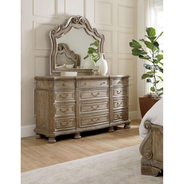 Castella Brown Twelve Drawer Dresser, image 3