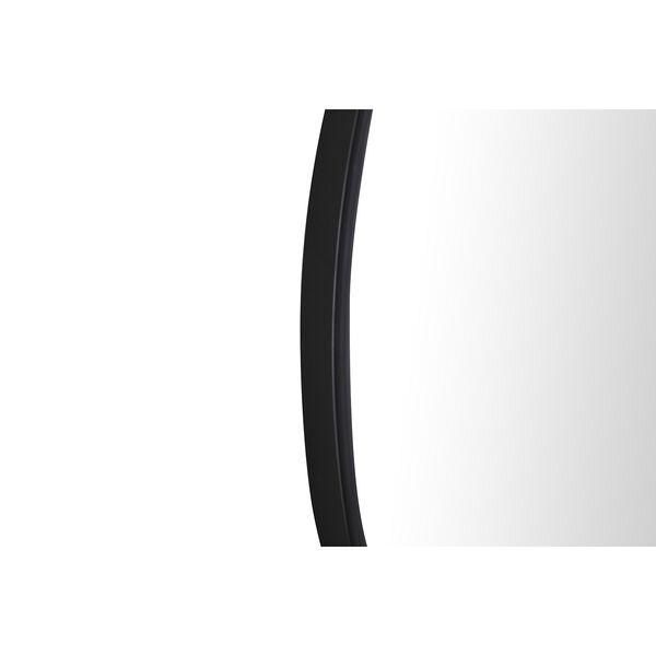 Eternity Black Round 32-Inch Mirror, image 5
