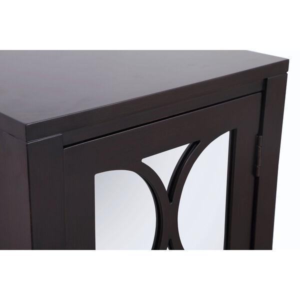 Modern Dark Walnut 18-Inch Cabinet, image 5