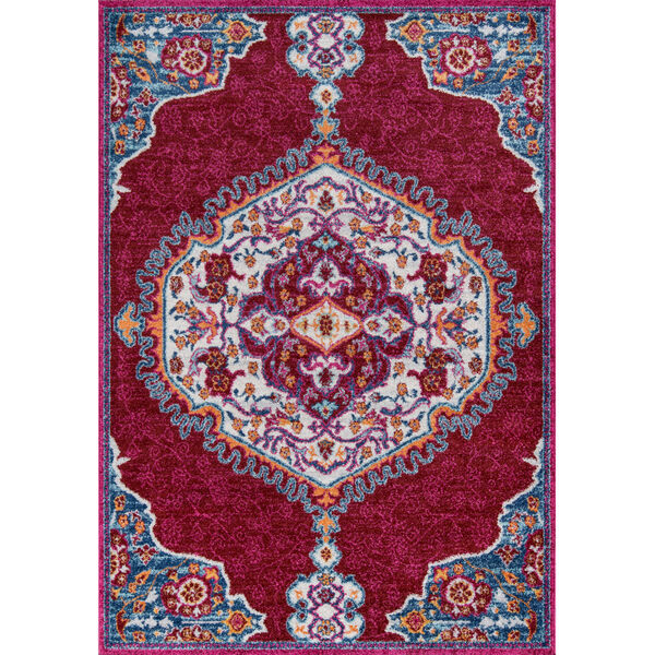 Haley Red Rectangular: 9 Ft. 3 In. x 12 Ft. 6 In. Rug, image 1