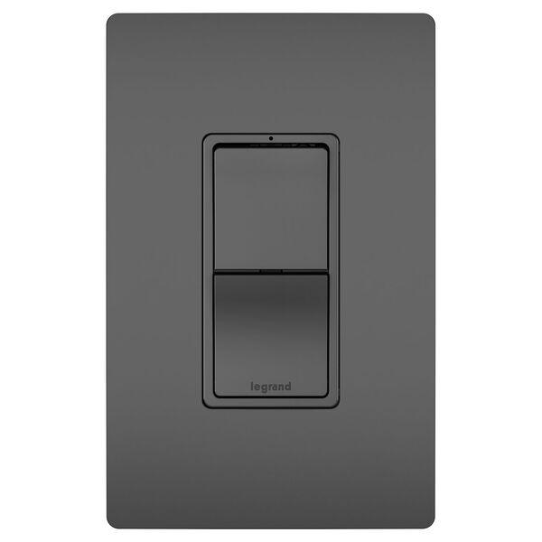 Black Two Single Pole 3-Way Switches, image 2