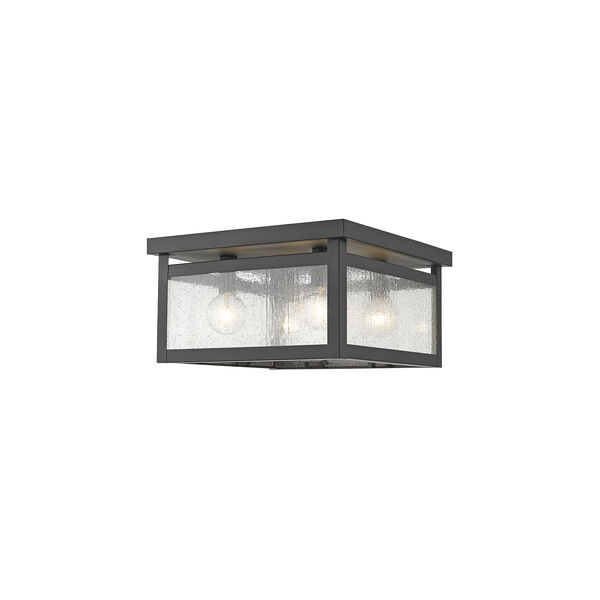 Milford Bronze Four-Light Ceiling Mount, image 1