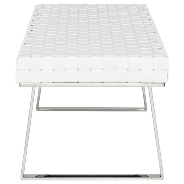 Karlee White and Silver Bench, image 3