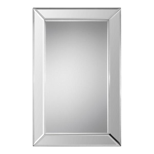 Uptown Rectangular Beveled Mirror, image 2