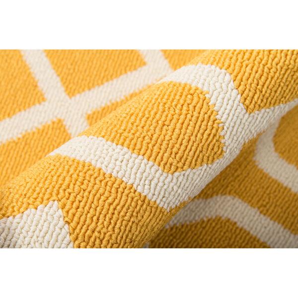Baja Links Yellow Indoor/Outdoor Rug, image 4