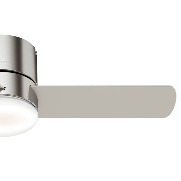 Minimus Low Profile Brushed Nickel 44-Inch LED Ceiling Fan, image 4