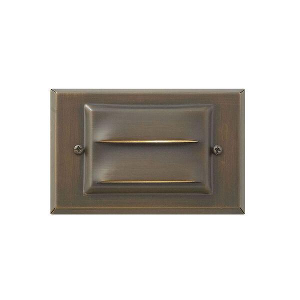 Hardy Island Matte Bronze 5-Inch LED Deck Light, image 1
