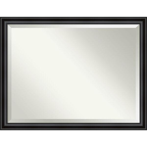 Black 44W X 34H-Inch Bathroom Vanity Wall Mirror, image 1