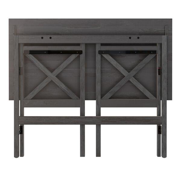 Xander Oyster Gray Foldable Desk, image 5