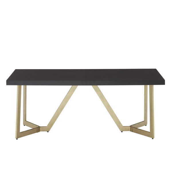 Helena Black and Gold Coffee Table, image 2