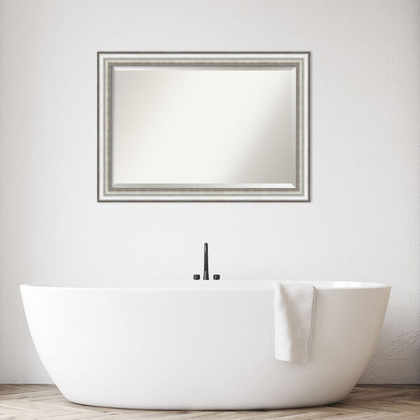 Salon Silver 41W X 29H-Inch Bathroom Vanity Wall Mirror, image 3