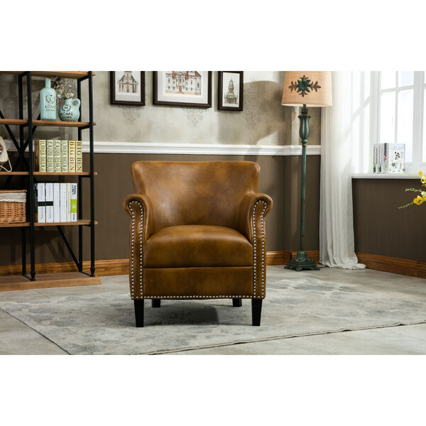 Holly Camel Club Chair, image 2