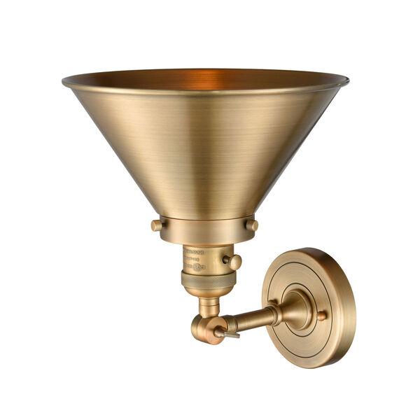Franklin Restoration Brushed Brass 10-Inch One-Light Wall Sconce, image 2