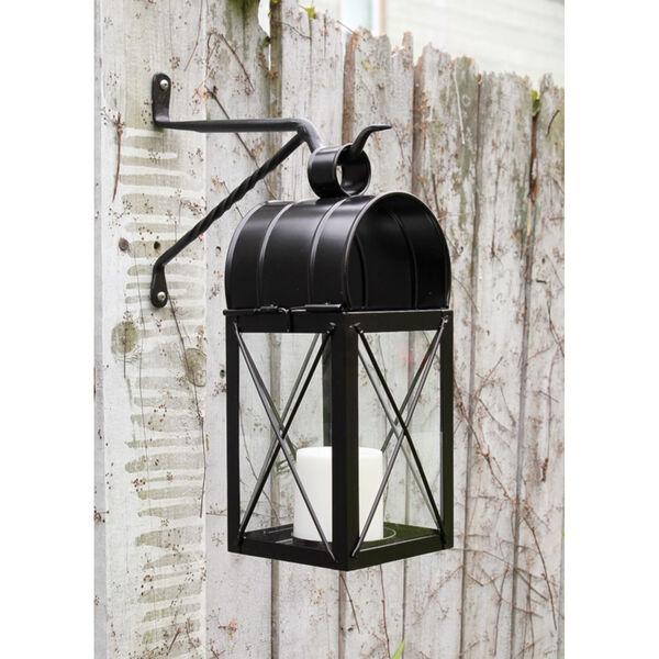 Black Powdercoat Lantern Wall Bracket, Set of Two, image 5