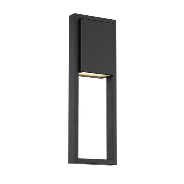 Archetype Black 18-Inch 3000K LED Outdoor Wall Sconce, image 1