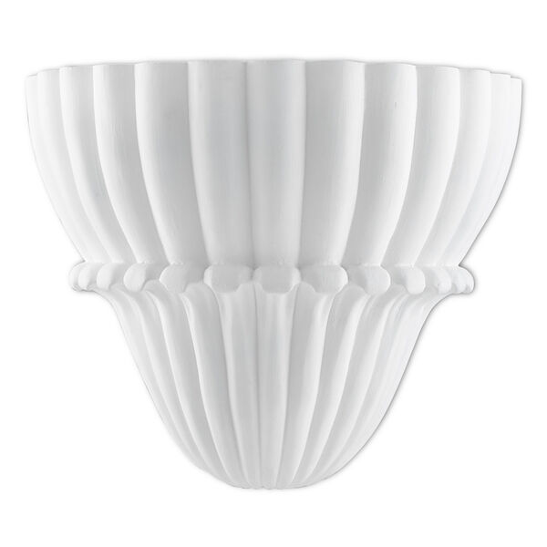 Winfield Gesso White One-Light Wall Sconce, image 1