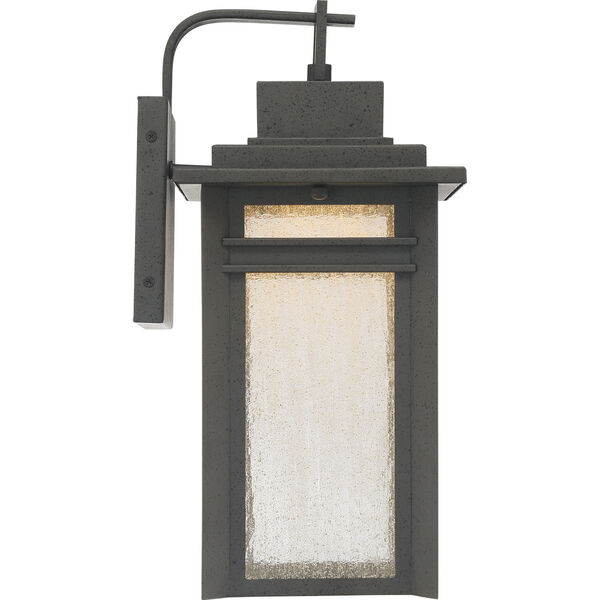 Beacon 16-Inch Stone Black LED Outdoor Wall Sconce, image 4