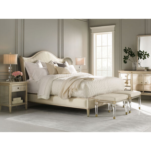 Classic Ivory Queen Bed, image 3