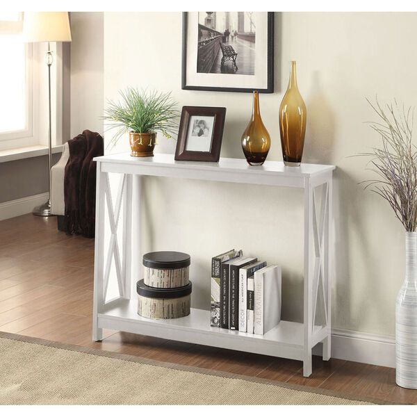 Oxford White Console Table, image 3