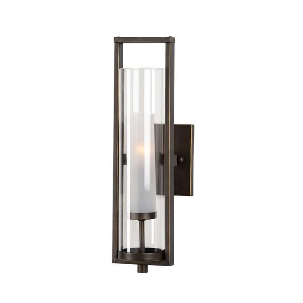 Bronze One-Light 5-Inch Lancaster Sconce, image 1