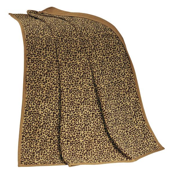 San Angelo Leopard Throw, image 1