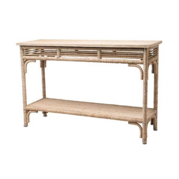 Olisa Natural Console Table, image 1