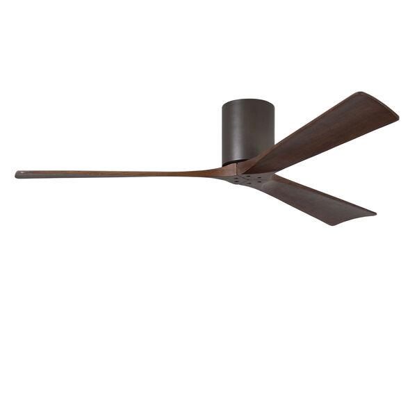 Irene-H Three Blade Textured Bronze 60-Inch Hugger-Style Ceiling Fan, image 3