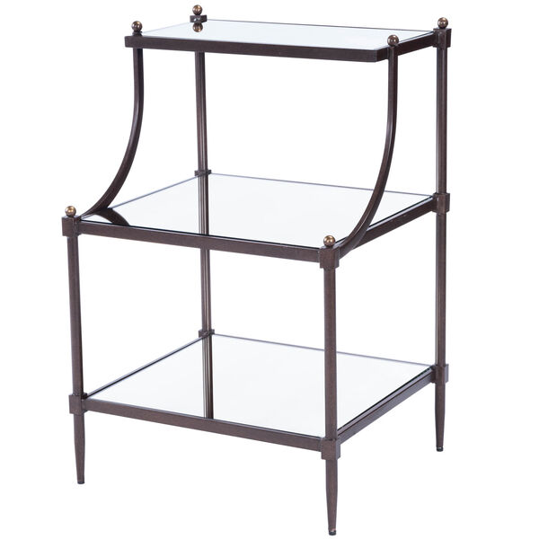 Metalworks Tiered Side Table, image 2