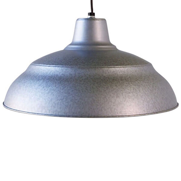 R Series Galvanized 17-Inch Warehouse Cord Hung Outdoor Pendant, image 4
