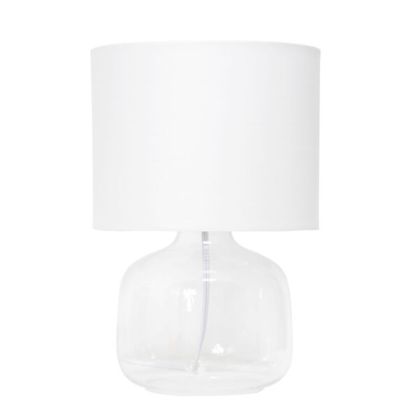 Cerise Clear White One-Light Table Lamp, image 1
