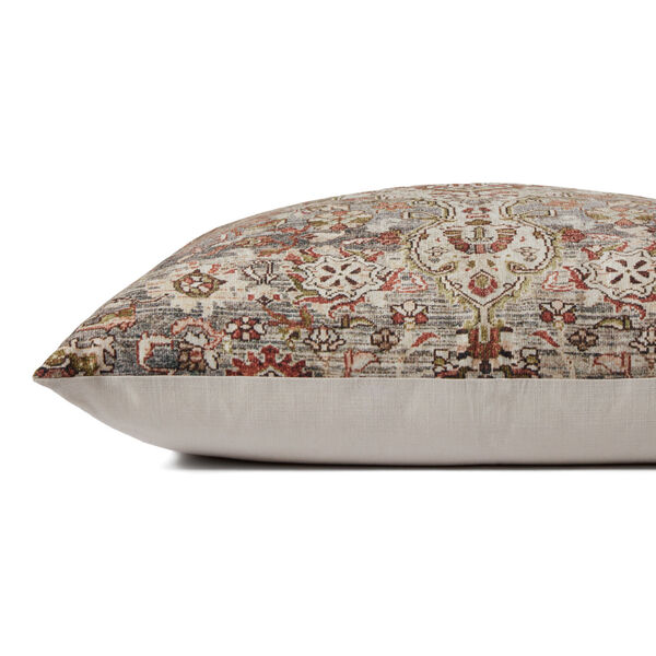 Multicolor Polyester 36-Inch x 36-Inch Floor Pillow, image 2