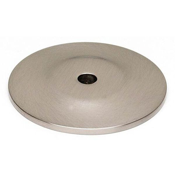 Satin Nickel 1 1/2-Inch Backplate, image 1