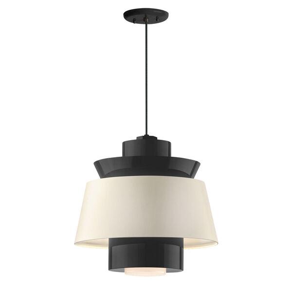 Aero Black LED 14-Inch Pendant, image 1