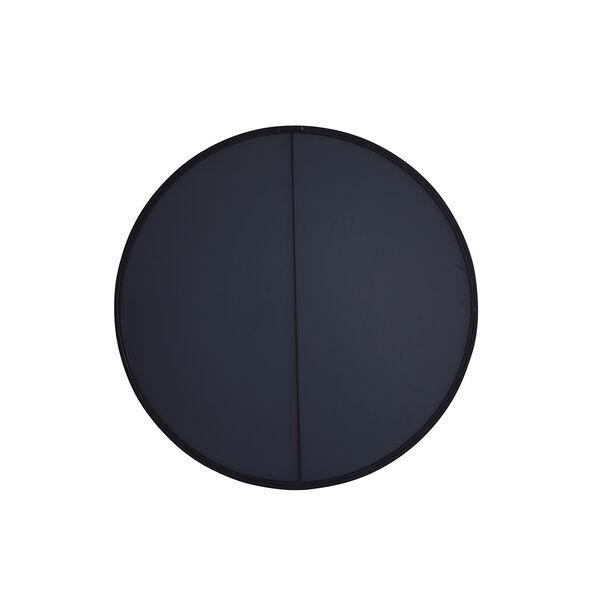 Eternity Black Round 32-Inch Mirror, image 4