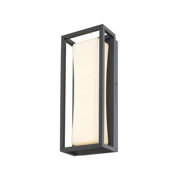 Baden Black 13-Inch LED Outdoor Wall Sconce, image 5