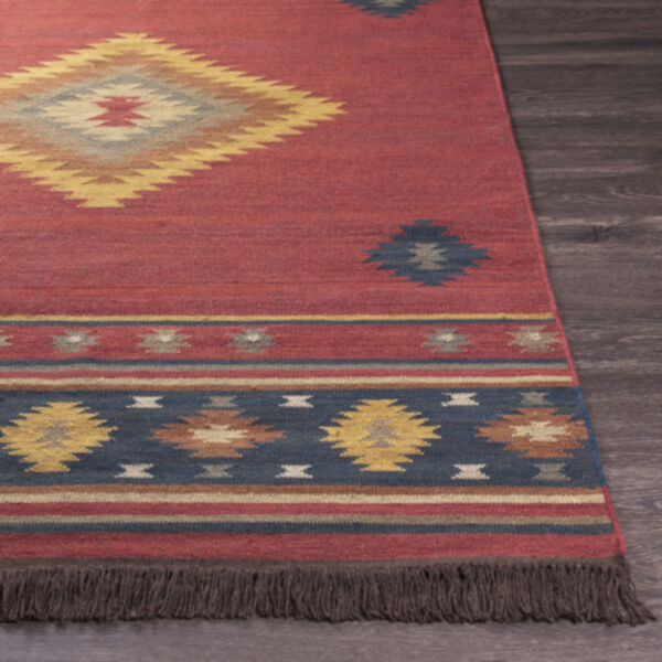Jewel Tone Multicolor Rectangular Rug, image 4