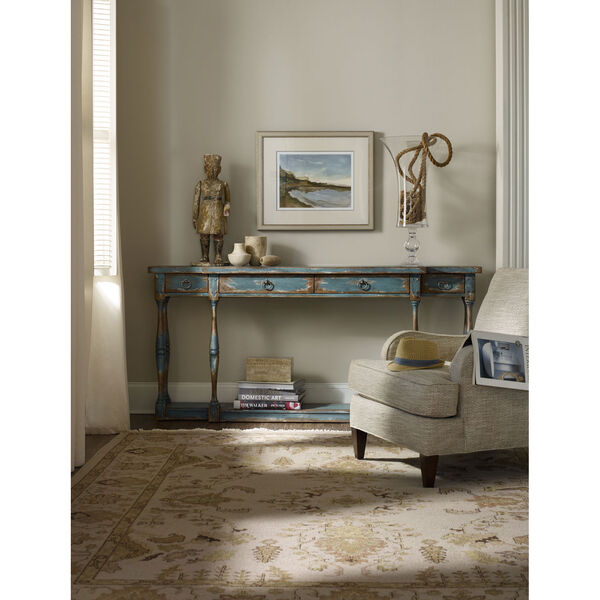 Sanctuary Four-Drawer Thin Console, image 3