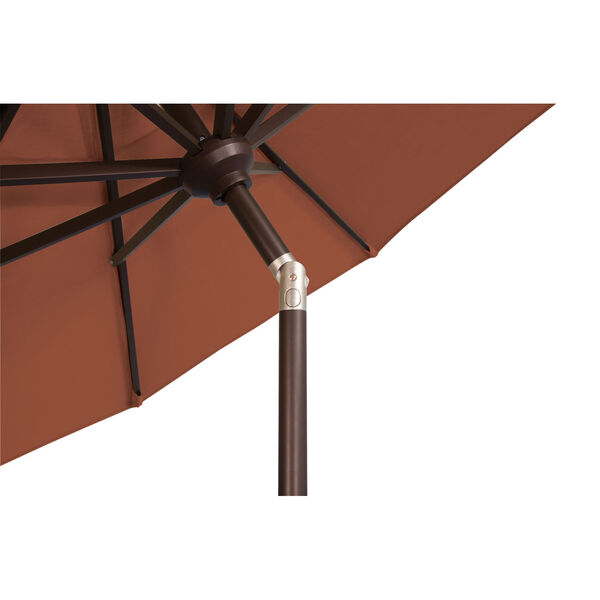 Catalina Really Red 108-Inch Market Umbrella, image 6