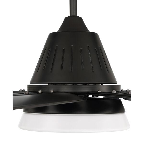 Wingtip Flat Black 72-Inch Ceiling Fan, image 4