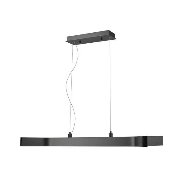 Arcano Matte Black Five-Light LED Pendant, image 3