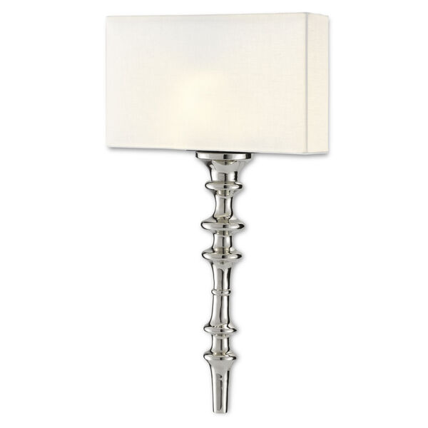 Achmore Nickel Black One-Light Wall Sconce, image 3