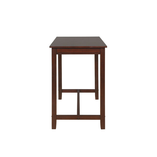 Ian Espresso Brown 36-Inch Counter Height Pub Table, image 4